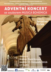 Adventní koncert se souborem Musica Bohemica